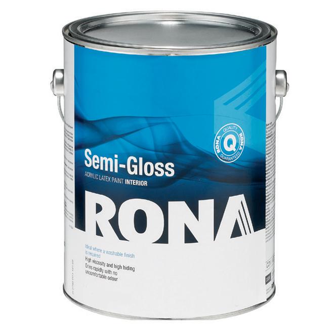 """Semi-Gloss Finish"" Interior Acrylic Latex"