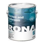RONA Kitchen and Bathroom Paint - 3.78 L - Natural White