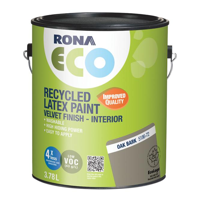 Recycled Interior Paint - Oak Bark