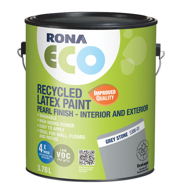Recycled Int/Ext Paint - Stone Grey