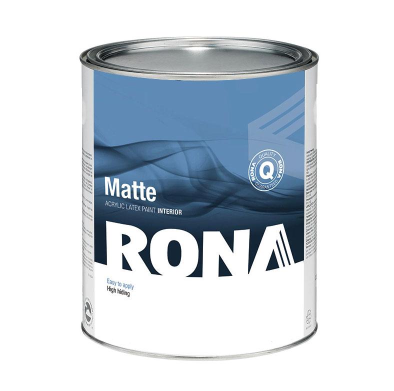 Interior Acrylic Paint Matte Finish - Neutral Base