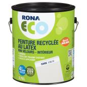 Peinture recyclée au latex, fini velours, Ivoire, 3,78 l