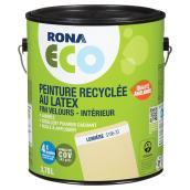 Peinture recyclée au latex, fini velours, Lumière, 3,78 l