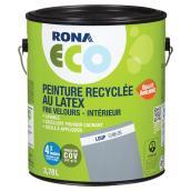 Peinture recyclée au latex, fini velours, Loup, 3,78 l