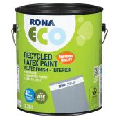 Recycled Latex Paint - Velvet Finish - Wolf - 3.78 L