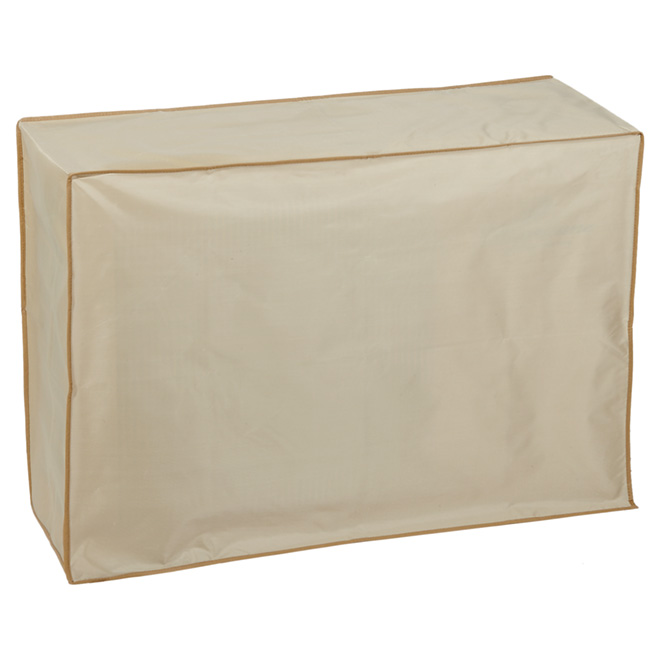 """Air Conditioner Cover - 12"""" x 34"""" x 24"""" - Beige"""