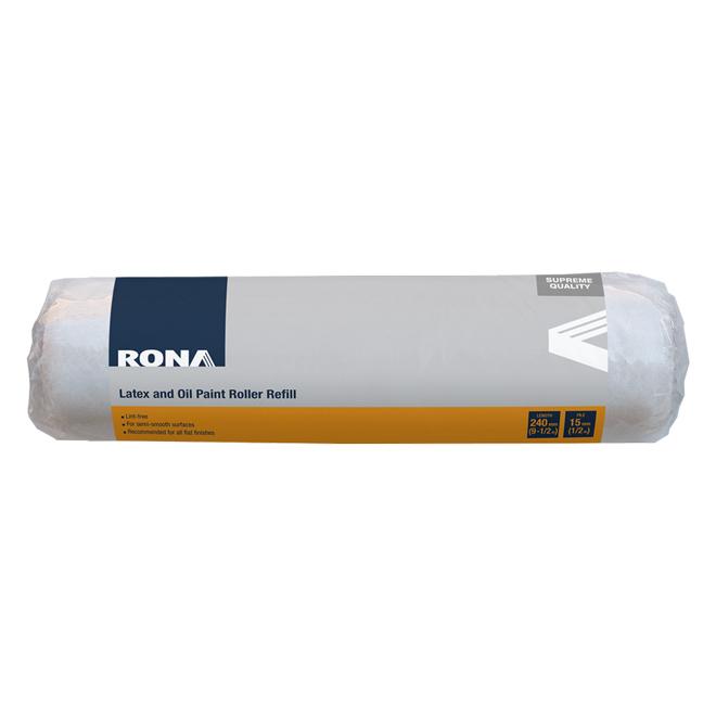 Paint Roller Refill - 240 mm x 15 mm - Acrylic
