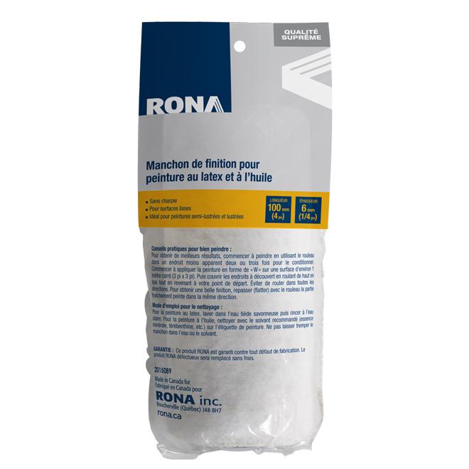 Manchon de rechange Rona, sans charpie, 100 mm x 6 mm