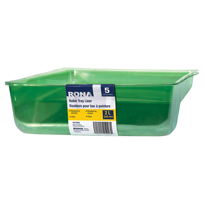 Pack of 5Roller Tray Liners - 2Litres