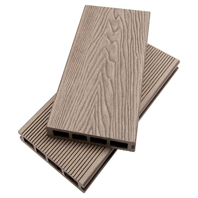 Deck Board - Composite - 5 5/16'' x 12' - Ash