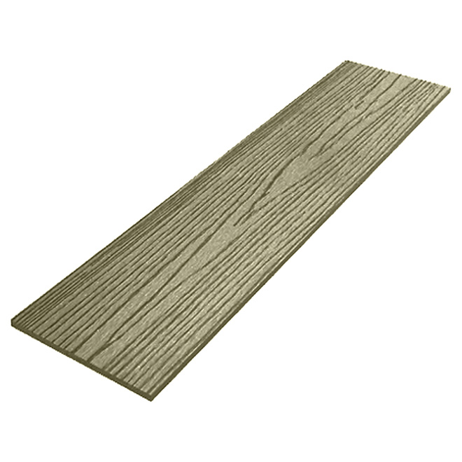Deck Skirting - Composite - 9 1/4'' x 12' - Ash
