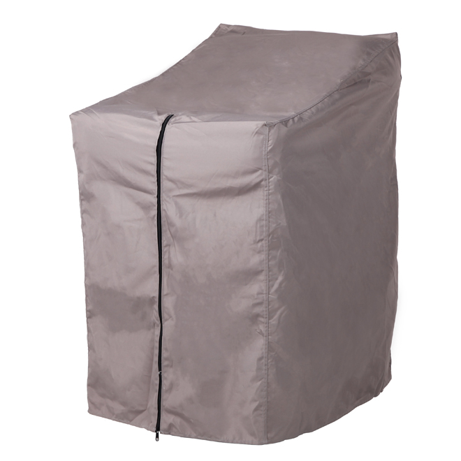 Patio Chair Cover - Polyester - Grey