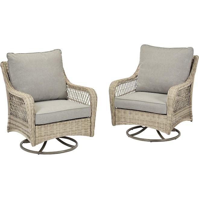 Roth Parkview Boston Swivel Patio Chair, Patio Furniture Swivel Rocker Chairs