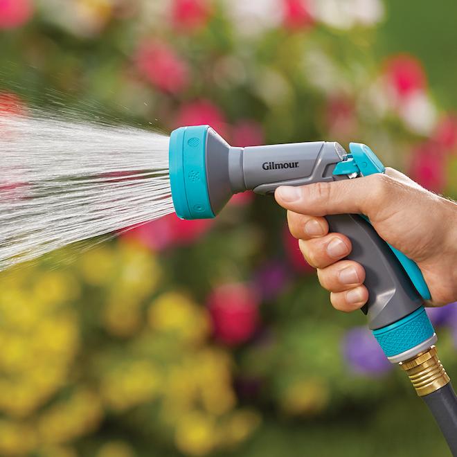 Adjustable Water Spray Gun - Rear Control - Aqua