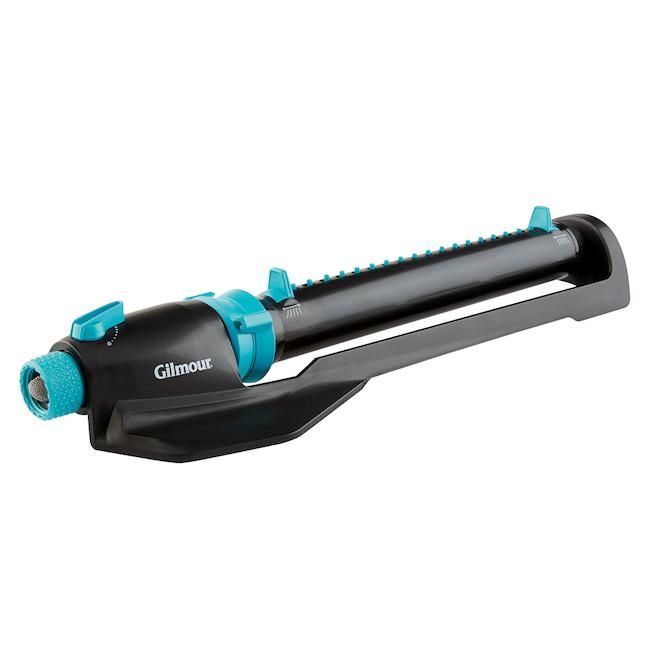 Arroseur oscillant avec base, turquoise/noir