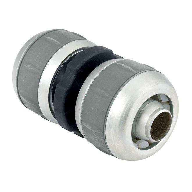Gilmour Aluminum Compression Mender - 5/8-in - 3/4-in