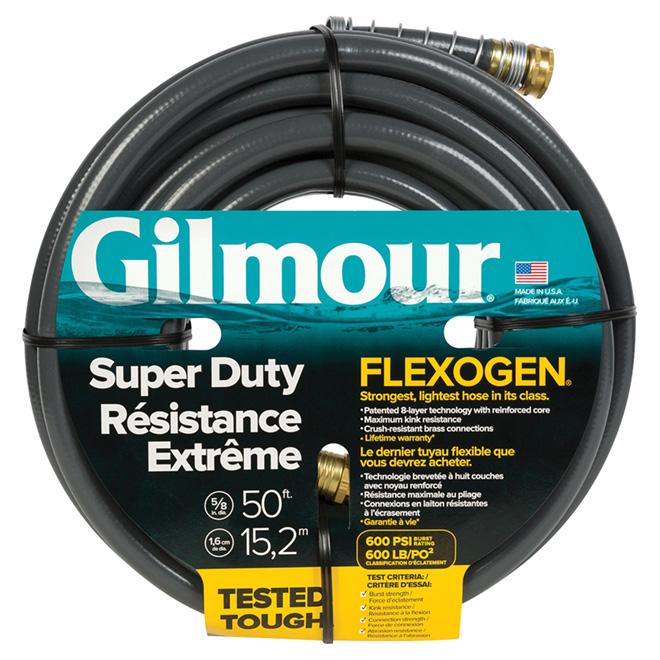 Boyau d'arrosage Flexogen Super Duty, 600 lb/po², 50'
