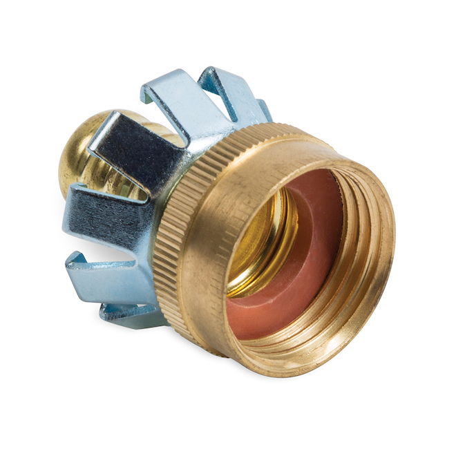 Female Clinch Coupling - Brass - 5/8""