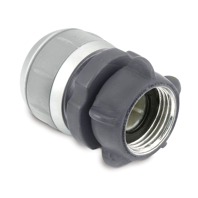 "Female Compression Coupling - Metal - 3/4"" or 5/8"""