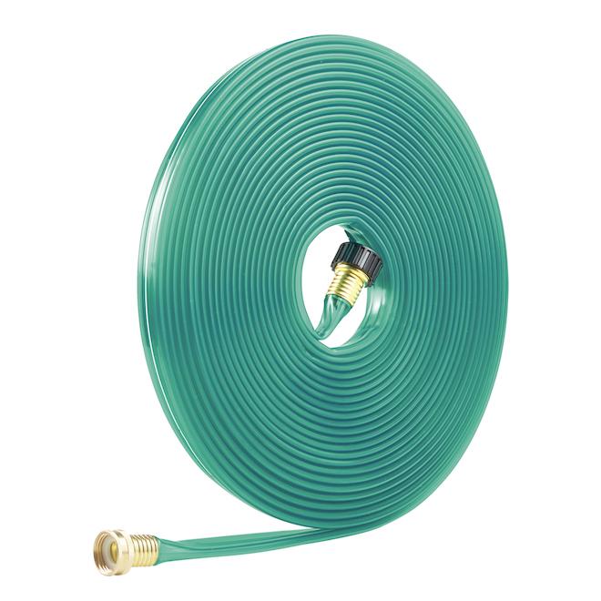 Sprinker Soaker Garden Hose - 5/8'' - 50' - Green