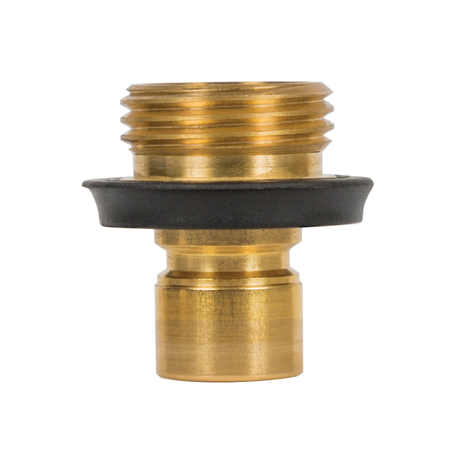 Male Quick-Connect - Solid Brass