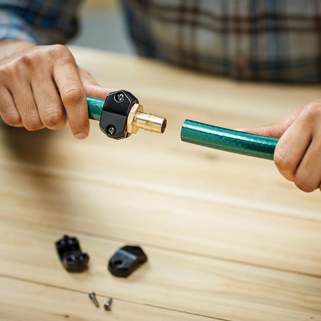 Réparateur de boyau en laiton massif, Gilmour
