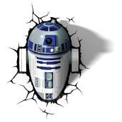 Applique murale 3D « R2-D2 »