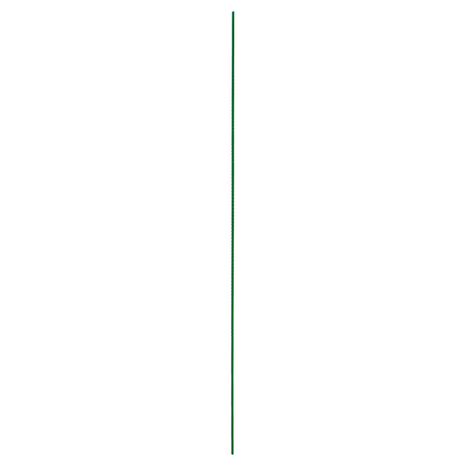Miracle-Gro Garden Stake - Steel and Plastic Coating - 6-ft - Green