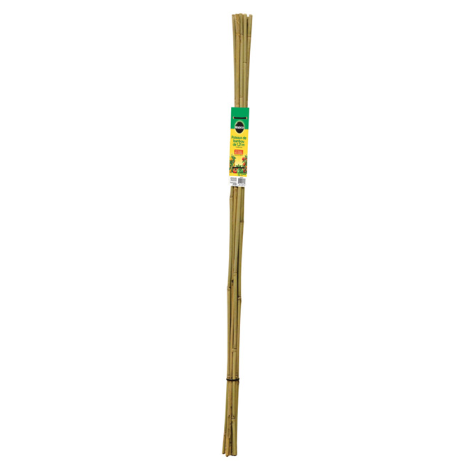 Miracle-Gro Garden Stake - Bamboo - 4-ft - 12-Pack