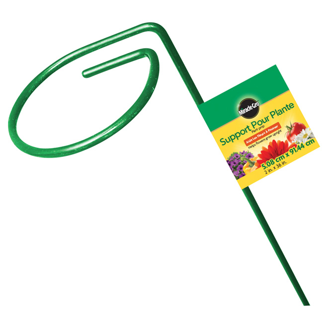 Miracle-Gro Plant Support - 36-in - Green