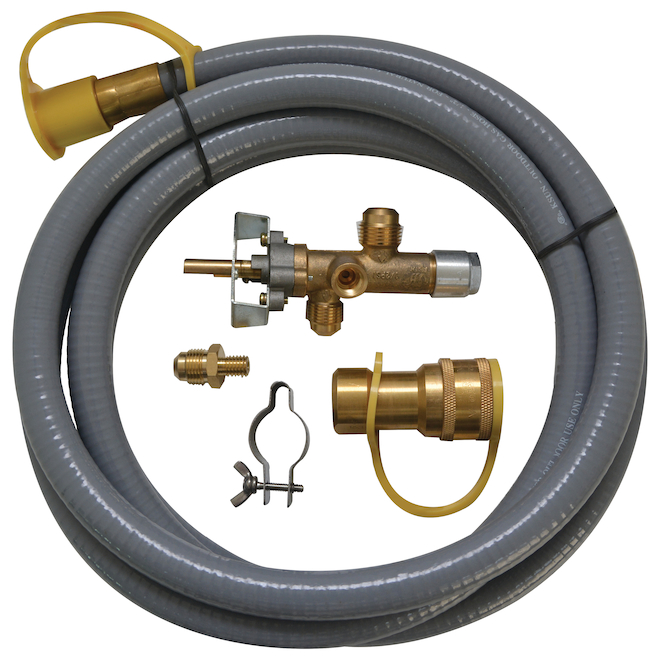 Natural Gas Conversion Kit - 50,000 BTU - PVC