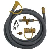 Natural Gas PVC Conversion Kit - 70,000 BTU