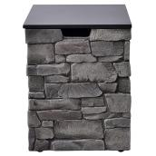Canyon Ridge Grey Steel Propane Tank Hideaway