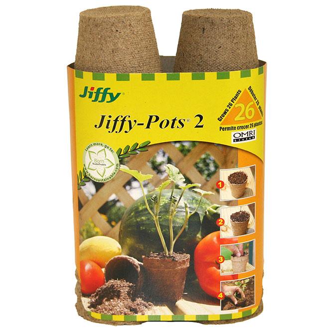 Pots pour semis 2 1/4 po