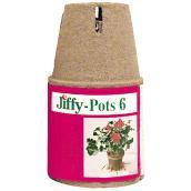"""Jiffy Starter Pots - 4"""" - 6/Pack"""