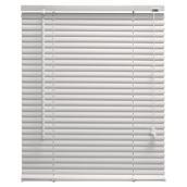 Store horizontal en PVC, blanc, 27