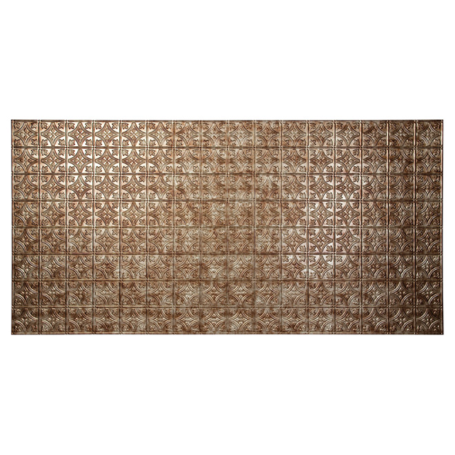 """Traditional 1"" Wall Panel - 4 x 8' - Bermuda Bronze"