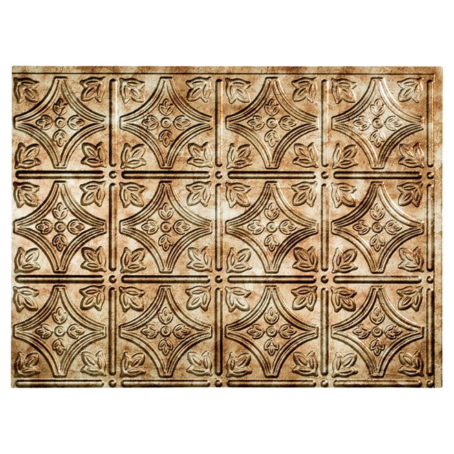 Backsplash Panel - Traditional - PVC - Bronze