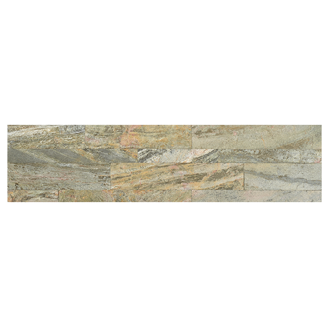 "Stone Tiles - Self Adhesive - 6"" x 24"" - Weathered Quartz"