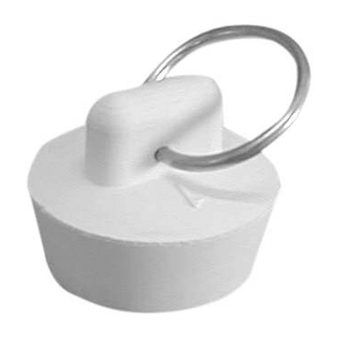 Rubber Stopper - White - 1 5/8''