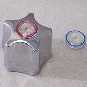 Poignée de remplacement Flotrol Waltec, chrome
