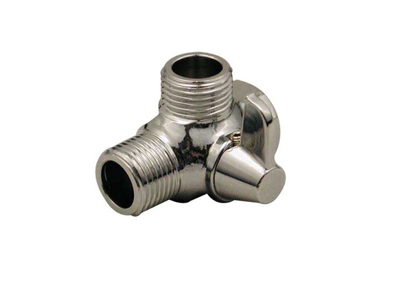 3-Way Diverter for Hand Shower - Chrome