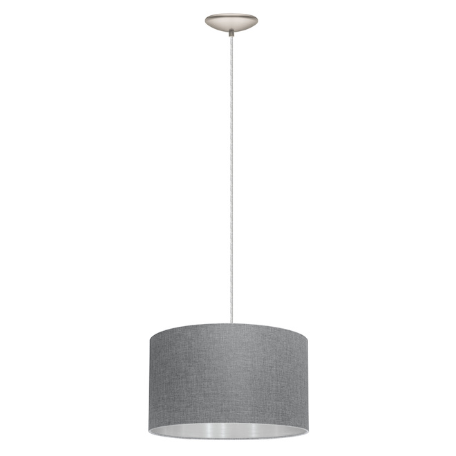Pendant Light with Shade - Grey
