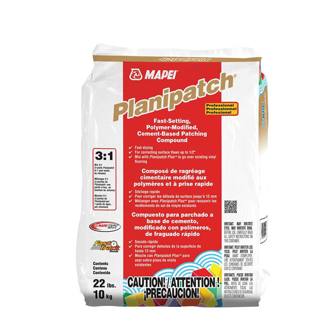 Planipatch Patching Compound - Fast Setting - 10 kg - Grey