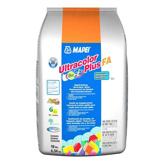 Coulis pour plancher «Ultracolor Plus» 4.54kg - Étain
