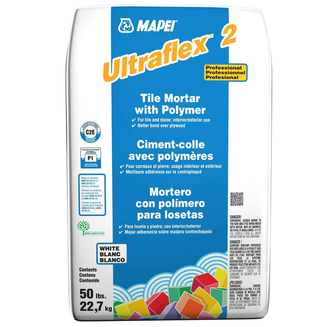 Ciment-colle «Ultraflex 2» 22,7 kg