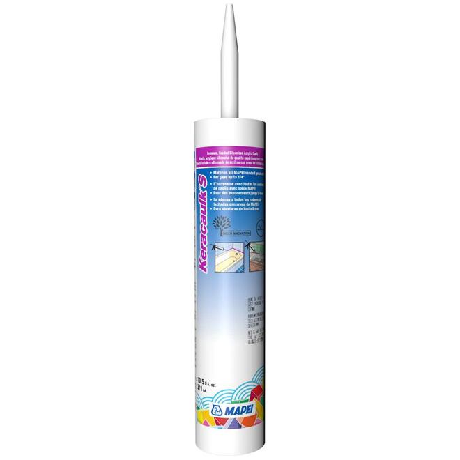 """Keracaulk S"" Sanded Acrylic Caulk 311ml - Silver"