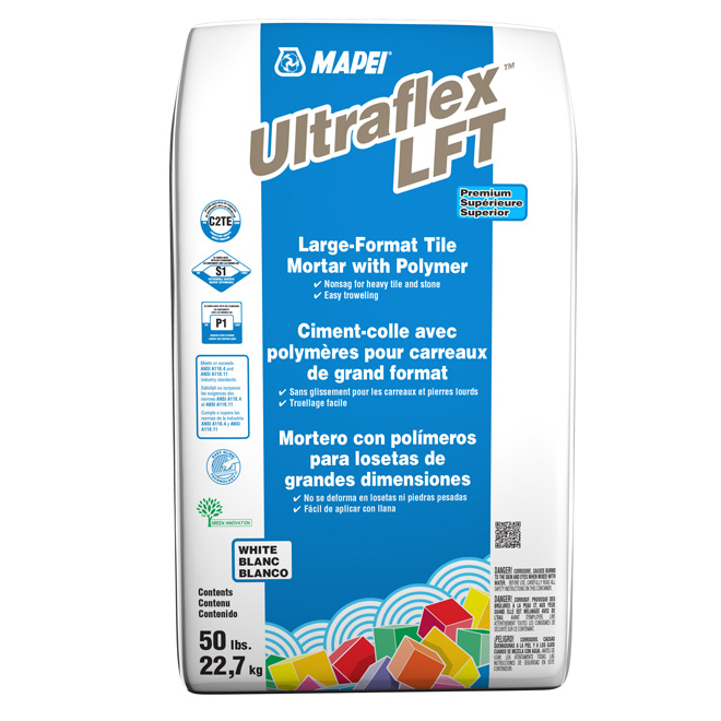 Ciment-colle «Ultraflex» pour carreaux, 22,7kg