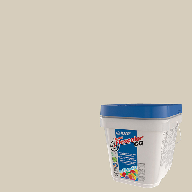 Premixed Grout - Flexcolor CQ - Biscuit - 3.8 L
