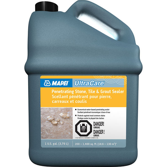 Mapei Tile and Grout Penetrating Scealer for Stone - 3.8 litres